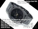 Nixon men watch THE PRIVATE SS private SS oar gunmetal black A276-680