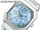 Independence men watch Citizen citizen multi-function light blue BH7-113-11
