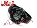 30 Timex iron man triathlon lap man and woman combined use digital watch black urethane belt T5E901