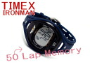 50 Timex iron men leak lap full size man and woman combined use digital watch navy urethane belt T5K337