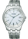 Citizen form men watch Eco drive radio time signal パーフェックスホワイト FRB59-2551