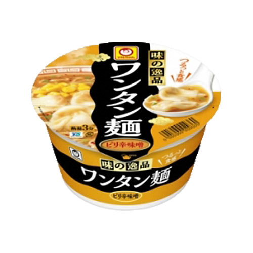 東洋水産つるっとワンタン麺味噌1個