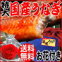 It is the day of the Ox on the eel dog days with the sauce of one one (about 230 g - around 250 g) charcoal fire firing eel kabayaki outsize Miyazaki product with 2014 midyear gift eel early percent gift present eel kabayaki product flower, Kagoshima product ※ eel kabayaki