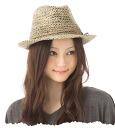 Hat natural simple turu straw hat Whenua straw Fedora Hat FENUA STRAW FEDORA ★ #WN: S