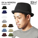 Hat イーケーバイニューエラ Hat Bidwell, black EK by NEWERA HAT BIDWELL BLACK #HA