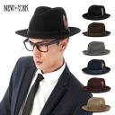 New York Hat tear drop felt Hat Fedora 3 colors NEW YORK HAT THE LITE FELT FEDORA
