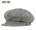 뉴욕 햇 불을 뿜는 회색 모자 NEW YORK HAT TWEED SPITFIRE CAP GREY [카스 모 포 큰 맨 즈 레이디스] [GY] #CQ