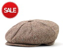 New York Hat newsboy Tweed news boy Brown NEW YORK HAT TWEED NEWSBOY BROWN #CQ