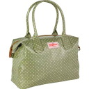 Cath Kidston (Cath Kidston) ジップドハンドバッグ (mini-dot / sage green) fs3gmfs2gm