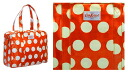 Cath Kidston (Cath Kidston) large zip bag (big spot / red) fs3gm
