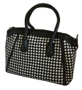 Mary Bianco (melie bianco) Darcy 2Way Satchell bag / handbag & slant credit bag (black X white) fs3gm