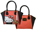 Lounge fly ( Loungefly ) Hello Kitty dot pattern 2-Way handbag / bag fs3gm
