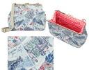 Cath Kidston (Cath Kidston) frame handbag (postcard pattern) upup7