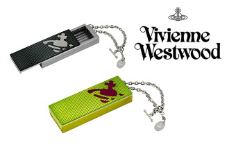 Vivienne Westwood WATER ORB square type portable ashtray (black & green) fs04gm