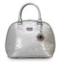 Loungefly Disney Frozen Silver Glitter Embossed Bag
