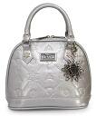 Loungefly Disney Frozen Silver Glitter Mini Embossed Bag