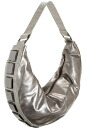 Merybianco ( melie bianco ) stone Hobo bag / shoulder handbags ( pewter )