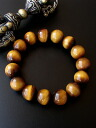 AAAA grade yellow Tiger eye 14 mm pearl bracelet natural ultra ball power stone & accessories