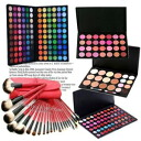 120 colors of lucky bag 2013 pro specifications eye shadow palettes, 21 brush sets, lip, teak, コンシーラー stand; mirror MEP-120set0310P28oct13