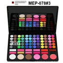 Professional eyeshadow palette, makeup palette, palette eyes 78 color MEP-78 # 3 (eye shadow)