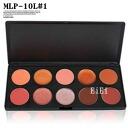 Lip palette, gloss and lipstick fell hard, makeup palette 10 color MLP-10L # 01 [stock]