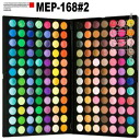 168 colors of professional specifications make palettes, eye shadow palette, Aizu palette MEP-168#2