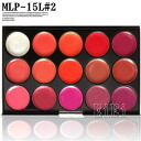 For lip palette / gross / omission 15 colors of stake lipstick / makeup palette MEP-15L#2[ immediate delivery]