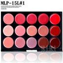 Tough lip palette/gloss / lipstick / make-up palettes 15 color MEP-15L