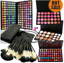 168 colors of lucky bag 2013 pro specifications eye shadow palettes, lip, teak, コンシーラー, 20 brush set MEP-168set02 with the storing case