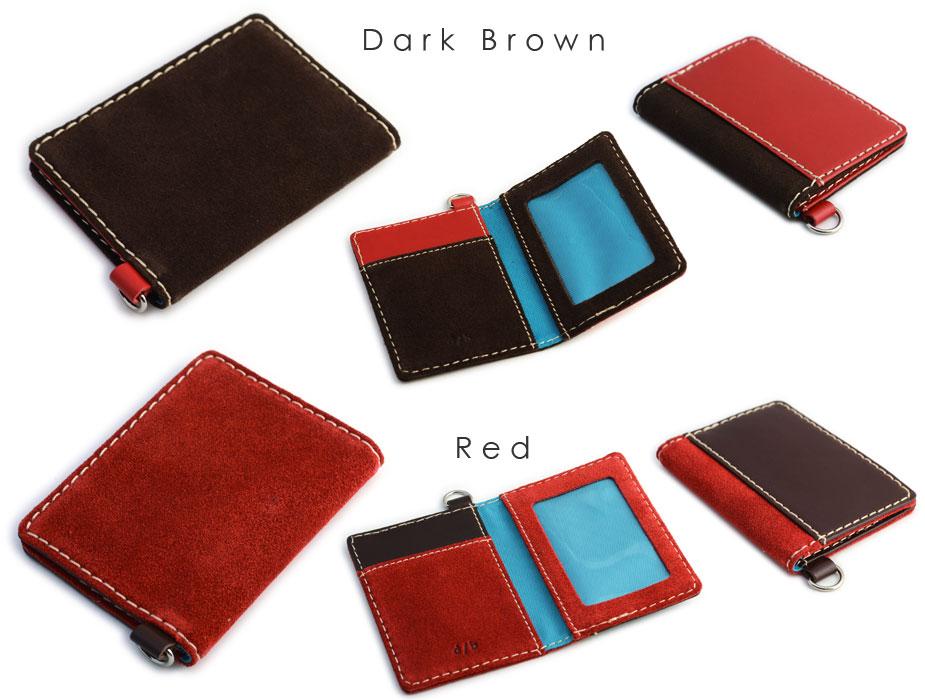 Dark Brown, Red