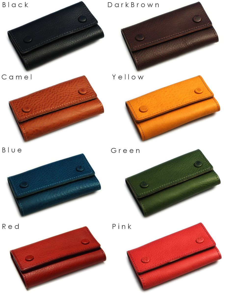 Black, Dark Brown, Camel, Yellow, Blue, Green, Red, Pink