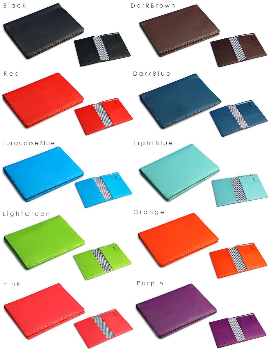 Black, Dark Brown, Red, Dark Blue, Turquoise Blue, Light Blue, Light Green, Orange, Pink, Purple