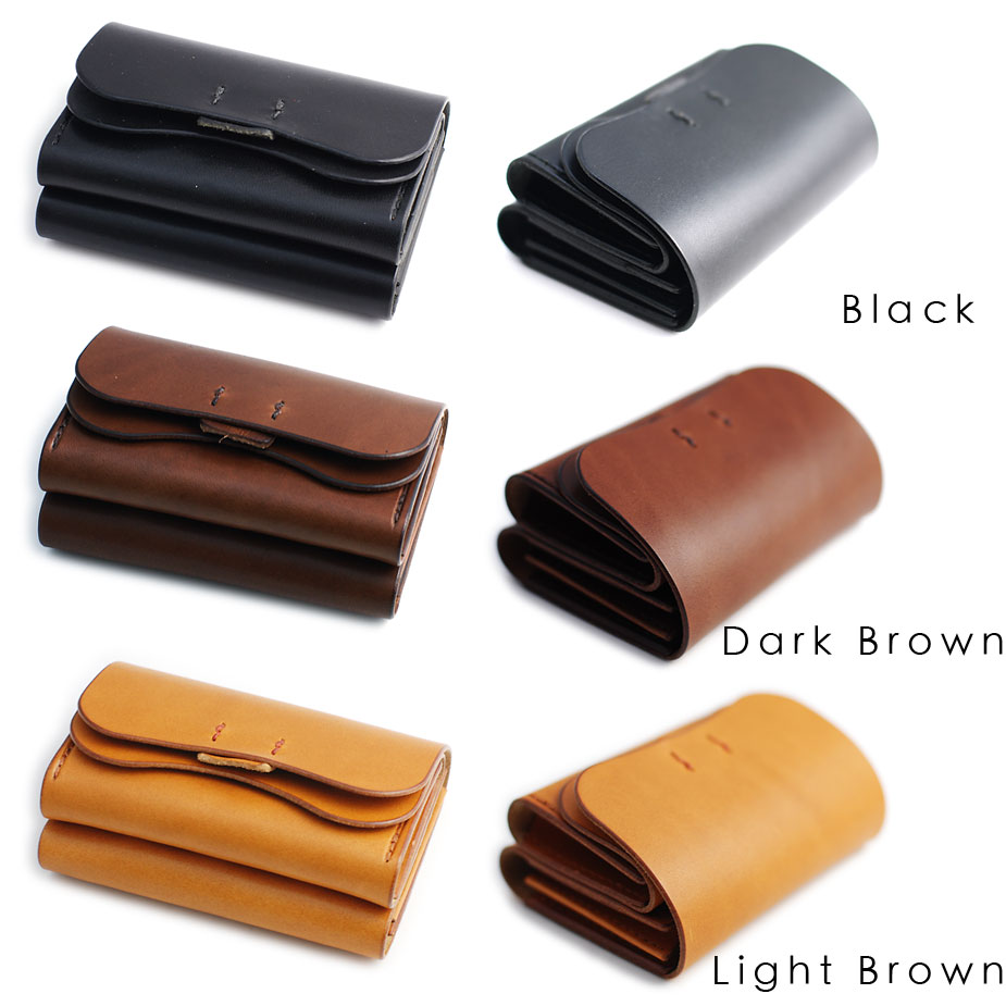 Black, Dark Brown, Light Brown