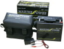 Marine battery MP-1219 12V-19 charging with medium and small electric special reel battery