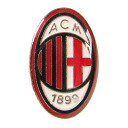 ! Imported from Europe! Italy Serie A AC Milan! Logo-shaped pin badge! And Cap! The shirt! Use variety! To the person I love AC Milan!