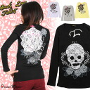 Skull &: cross print Gothic T shatscuteau