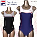 Brand swimsuit ★ FILA Lady's one-piecer [Fila] [black] [blue] [gray ][9M][11L][13L]]