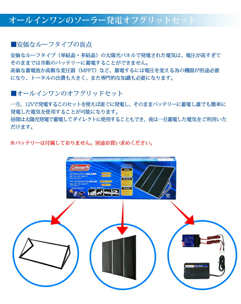 Otoginokuni Rakuten Global Market Solar Panel Battery