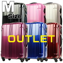 Suitcase about 5 ~ 7 nights TSA lock equipped with mirror finish new suitcase carry bag gorgeous M size 5, 6, 7, Beginner-Advanced domestic travel international travel 5062-60 MB-KP bargain travel bag