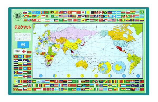 【楽天市場】【最新版】学習デスクマット世界地図 裏面 漢字・かけ算九九・ローマ字 学習机下敷き:激安家具 Ka@gu