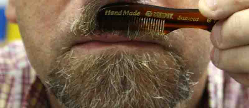 kent beard and moustache comb