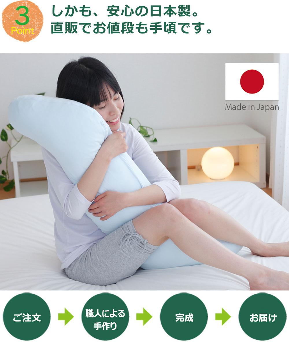 Point3しかも、安心の日本製。工場直販でお値段も手頃です。