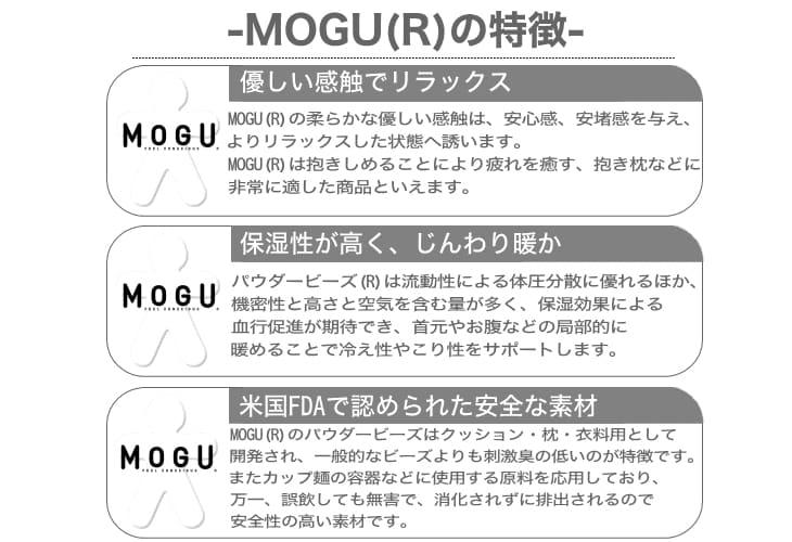 MOGU(R)の特長