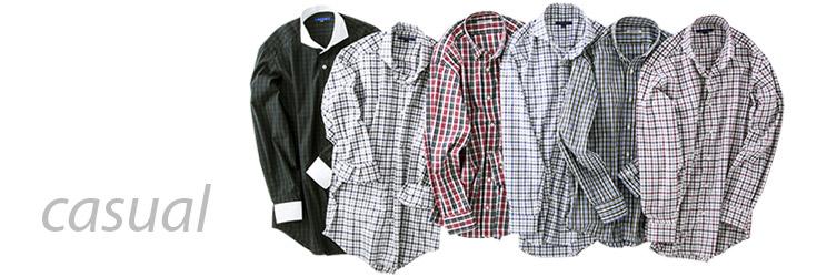 メンズ:カジュアルシャツ・ワイシャツ