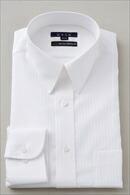 【メンズ・ドレスシャツ・ワイシャツ】 タイトフィット・プレミアムコットン120番手双糸・イージーケア・レギュラーカラー
