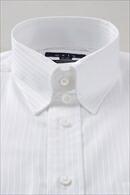 【メンズ・ドレスシャツ・ワイシャツ】 タイトフィット・プレミアムコットン120番手双糸・イージーケア・タブカラー