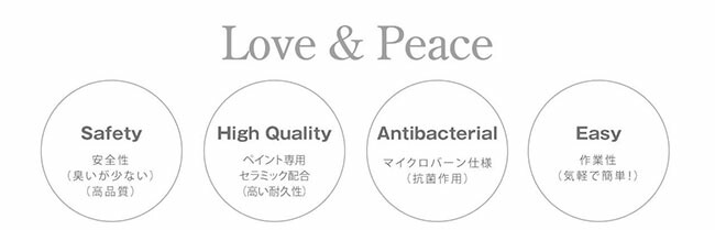 Love&Peace Hip mini特徴