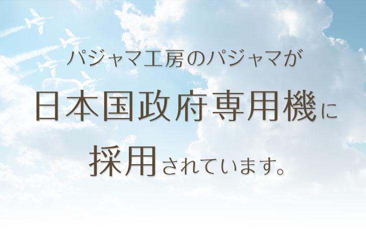 日本国政府専用機に採用されました