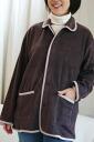 フリース, but unlikely to result in static electricity! Fluffy was warm fleece * single ( table brushed ) type * room jacket