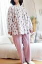 NIST goose アンティークポーセリンフラワー pattern pajamas